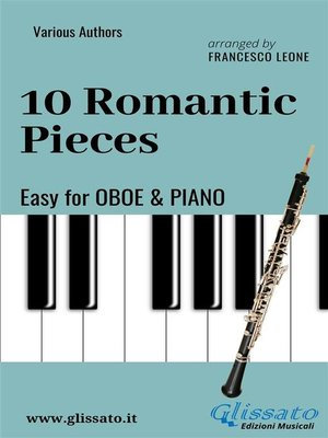 cover image of 10 Romantic Pieces--Easy for Oboe and Piano