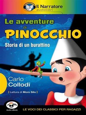 cover image of Le avventure di Pinocchio (Audio-eBook)