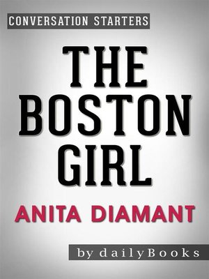 cover image of The Boston Girl--A Novel by Anita Diamant