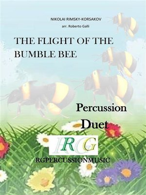 cover image of A FLIGHT OF THE BUMBLEBEE duet