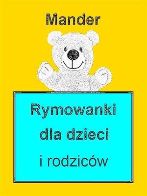 cover image of Rymowanki dla dzieci i rodziców