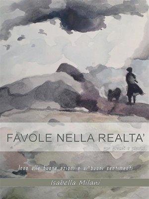 cover image of Favole nella realtà