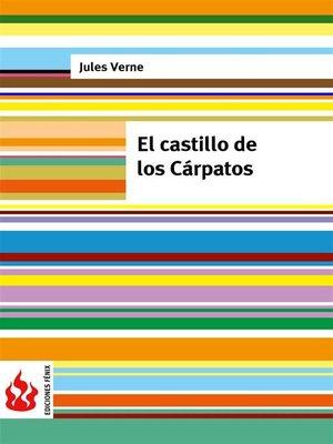 cover image of El castillo de los Cárpatos (low cost). Edición limitada