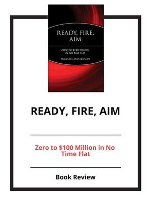 cover image of Ready, Fire, Aim