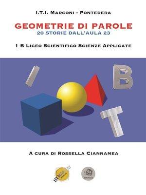 cover image of Geometrie di parole