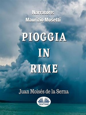cover image of Pioggia In Rime