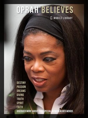 cover image of Oprah Believes--Oprah Quotes