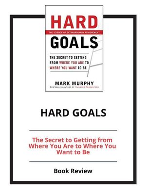 cover image of Hard Goals