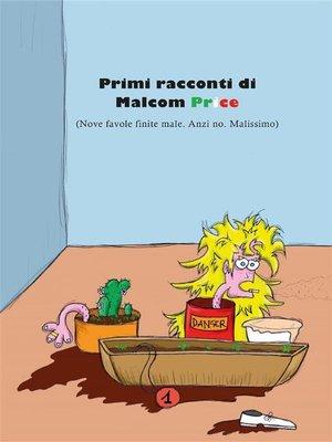 cover image of Primi racconti di Malcom Price