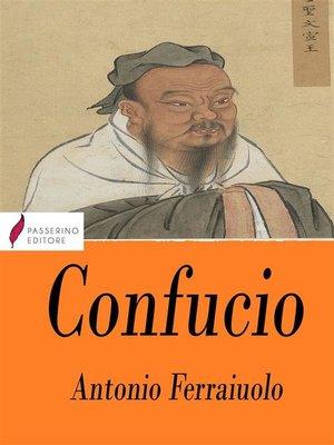 cover image of Confucio