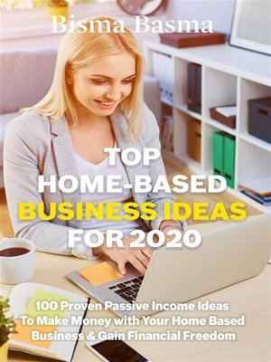 cover image of Top Home-Based Business Ideas for 2020