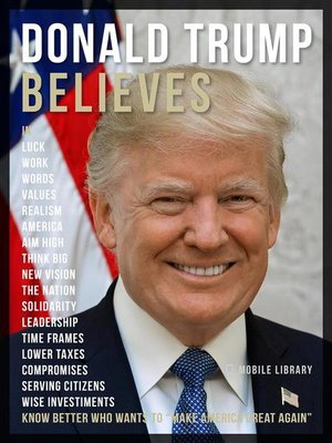 cover image of Donald Trump Believes--Donald Trump Quotes and Believes