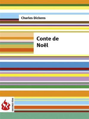 cover image of Conte de Noël (low cost). Édition limitée