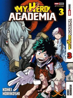 cover image of My Hero Academy 3
