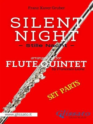 cover image of Silent Night--Flute Quintet (set of parts)