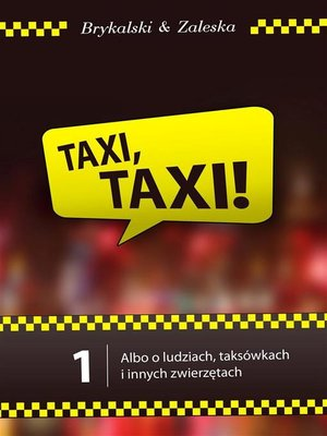 cover image of Taxi, taxi!