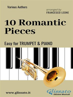 cover image of 10 Romantic Pieces--Easy for Trumpet and Piano