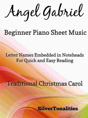 cover image of Angel Gabriel Beginner Piano Sheet Music