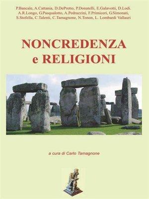 cover image of Non credenza e religioni