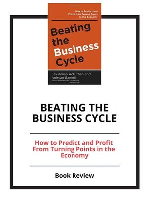 cover image of Beating the Business Cycle