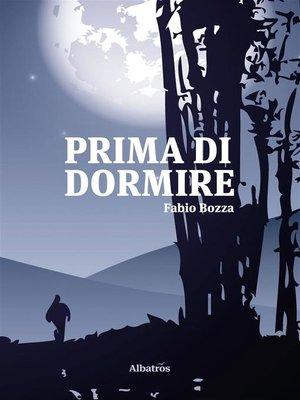 cover image of Prima di dormire