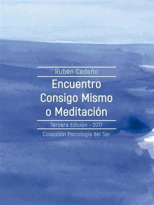 cover image of Encuentro consigo mismo o Meditación