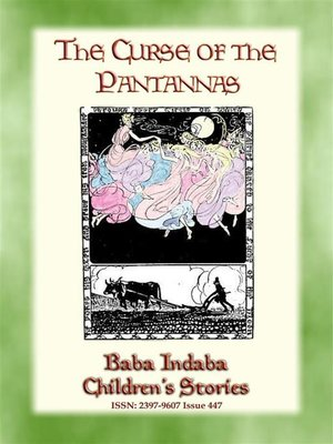 cover image of THE CURSE OF PANTANNAS--A welsh tale from Glamorgan