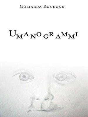 cover image of Umanogrammi