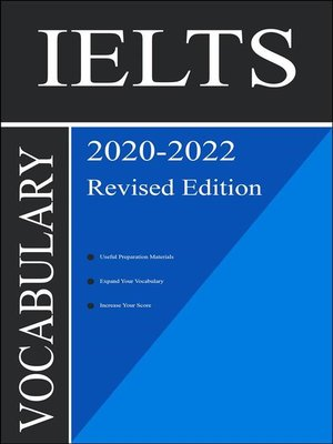 cover image of IELTS Vocabulary 2020