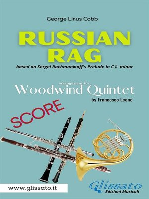 cover image of Russian Rag--Woodwind Quintet--Score