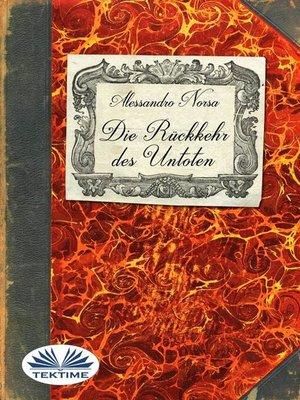 cover image of Die Rückkehr des Untoten