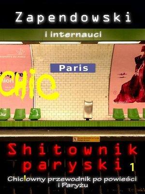 cover image of Shitownik paryski.
