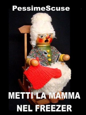 cover image of Metti la mamma nel freezer
