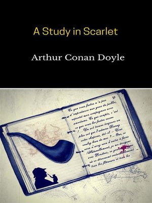 cover image of A Study in Scarlet ( Sherlock Holmes #1 )