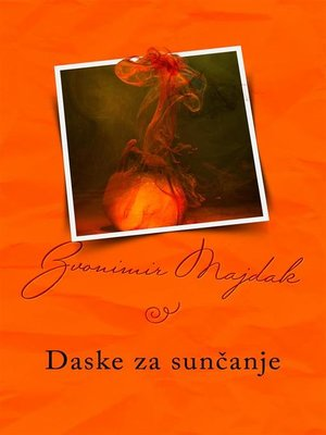 cover image of Daske za sunčanje