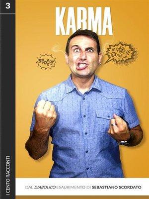 cover image of I cento racconti, Volume3, Karma