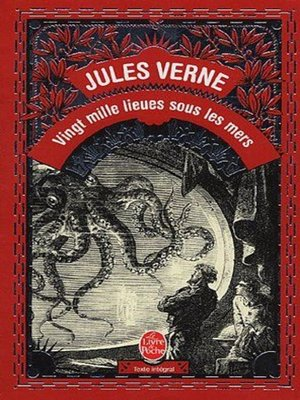 cover image of 20000 lieues sous le mer