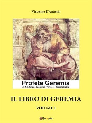cover image of Il libro di Geremia--Volume 1