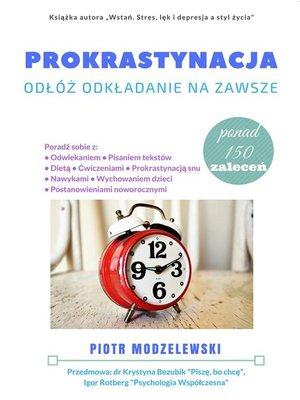 cover image of Prokrastynacja