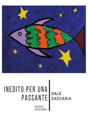 cover image of Inedito per una passante