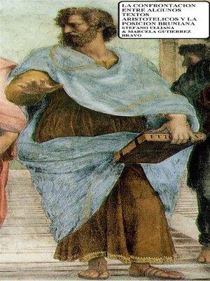 cover image of La Confrontación Entre Algunos Textos Aristotélicos Y La Posición Bruniana