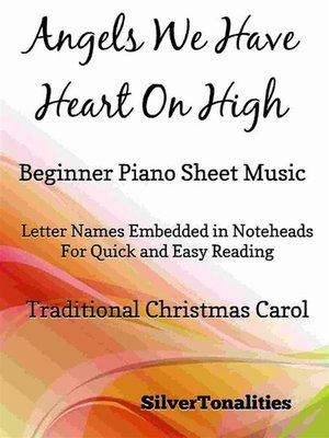 cover image of Angels We Have Heard On High Beginner Piano Sheet Music