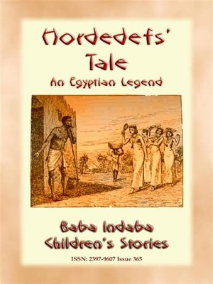 cover image of HORDEDEF'S TALE--An Ancient Egyptian Legend for Children