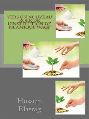 cover image of Vers un nouveau role de l'institution de Islamique Waqf
