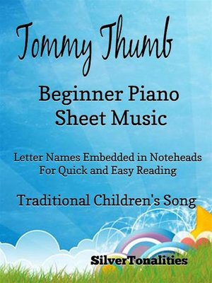 cover image of Tommy Thumb Beginner Piano Sheet Music