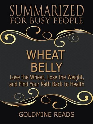cover image of Wheat Belly--Summarized for Busy People