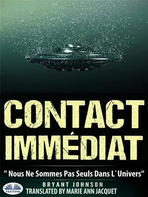 cover image of Contact Immédiat