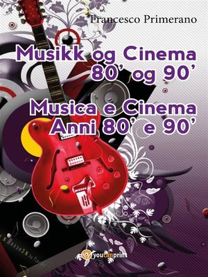 cover image of Musikk og Cinema 80' og 90'
