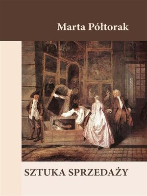 cover image of Sztuka sprzedaży