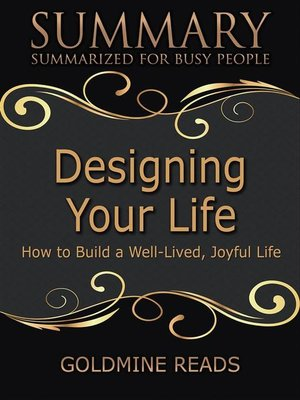cover image of Designing Your Life--Summarized for Busy People